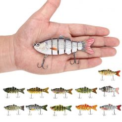 Artificial Swim-bait Fishing Lure