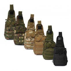 Tactical Shoulder Bag Colors