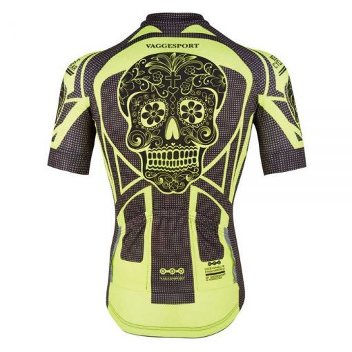 Yellow Skull Cycling Jersey - MyGearEnvy.com 828c6f6be