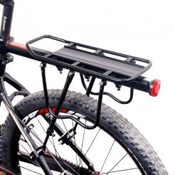 aluminium bicycle rear carrier - fixed bolt
