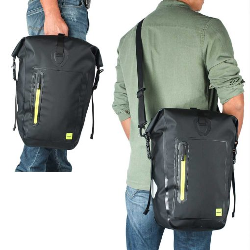 Waterproof Bicycle Pannier Bag - with shoulder strap