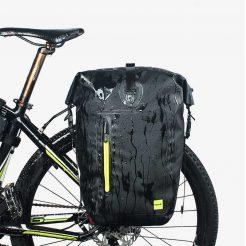 Waterproof Bicycle Pannier Bag - Waterproof display