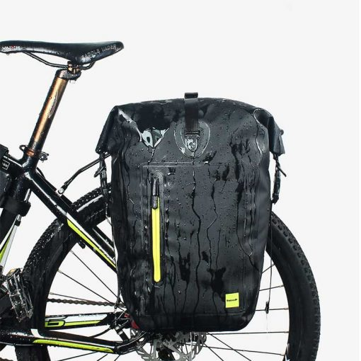 Waterproof Bicycle Pannier Bag - Waterproof display